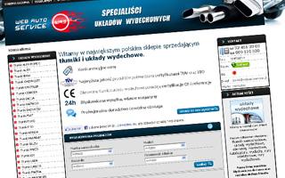 Webautoservice - tłumiki samochodowe