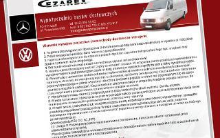 Wynajem aut dostawczych Łódź