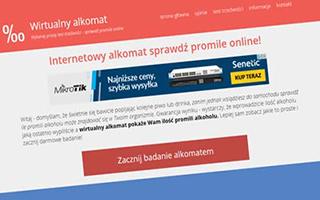 Badanie ilości promili wirtualnyalkomat.com